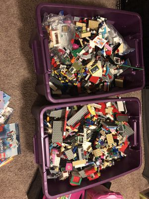 Over 75 LEGO sets and accessories. for Sale in Graham, WA