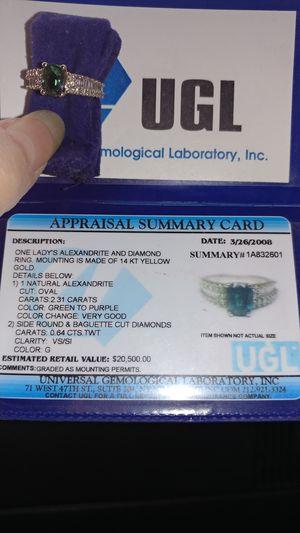 UGL Alexandrite for Sale in Las Vegas, NV