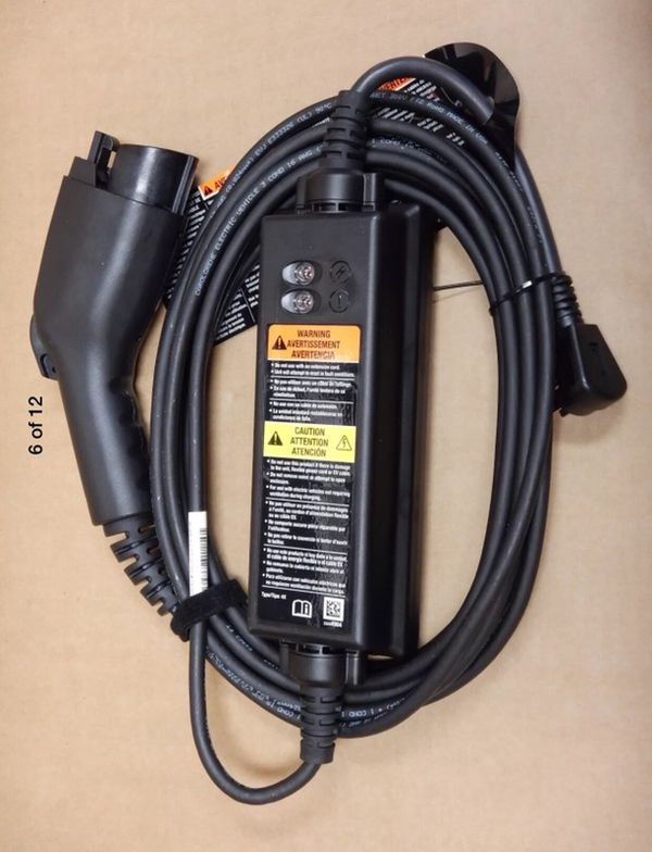 Chevrolet Charger Cable 2017 Chevy Bolt Ev Or 2016 17 Volt Oem Part 24280119 New