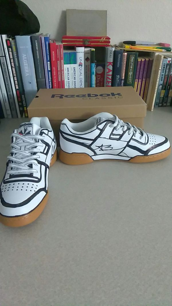 ea46079545747 Reebok Classic Workout Gum Bottom Custom for Sale in San Diego