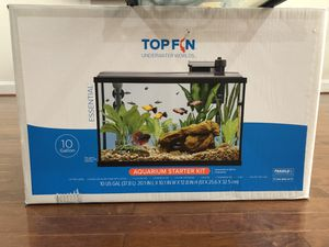 Top fin aquarium starter kit 10 gallon for Sale in DULLES, VA