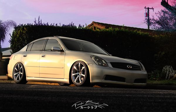 2005 G35 Sedan Clean Title Lowered For Sale In Garden Grove Ca