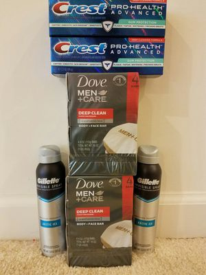 Mens care bundle- $20 not negotiable for Sale in Rockville, MD