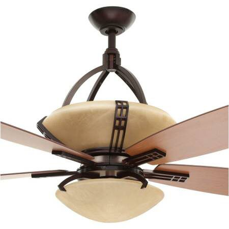 Hampton bay miramar 60 in indoor weathered bronze ceiling fan new 140sold aloadofball
