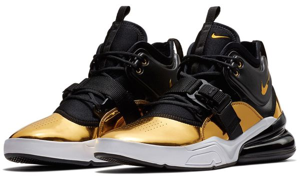 0796db4fb926 Nike Air Force 270 CT16 QS Think 16 AT5752-700 Metallic Gold Bkack White  Authentic for Sale in Brooklyn