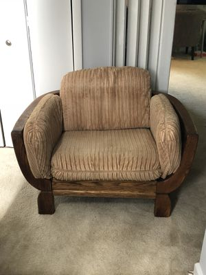 Living Room Furniture Set (2 sofas, chair, table) for Sale in Arlington, VA
