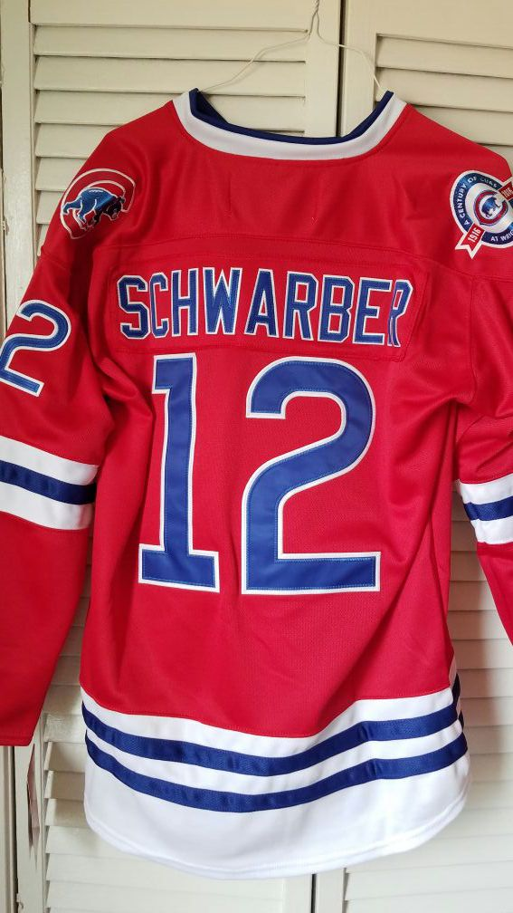 NEW Authentic Chicago Cubs Kyle Schwarber Hockey Jersey for Sale in ... 03f6a7c1245