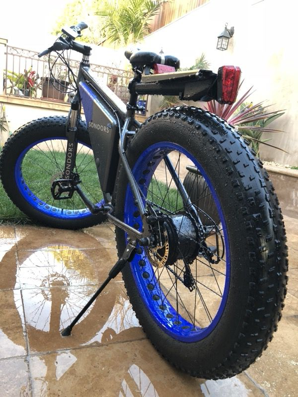 sondors electric bike fat tires for sale in san jose ca offerup. Black Bedroom Furniture Sets. Home Design Ideas