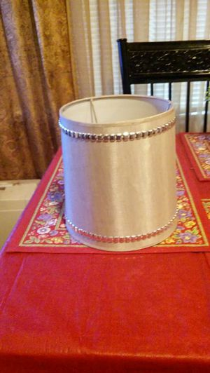 Tan Lamp Shade With Silver Studs For In Louisville Ky