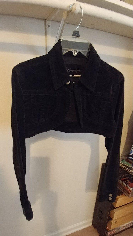 Velvet Bolero Jacket - Size L - $20 OBO