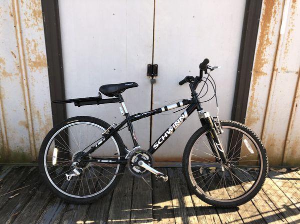 0e94735355d Schwinn high plains 2.4 fs mountain bike with Rear Bike Rack $40 obo ...