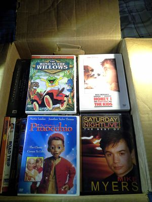 110 movies up for sale, ranging from comedy to action and horror for Sale in Bonney Lake, WA