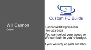Custom Built Gaming Computers. for Sale in Concord, NC