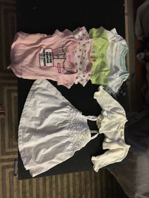 BABY GIRL CLOTHES (3-6 months) for Sale in Manassas, VA