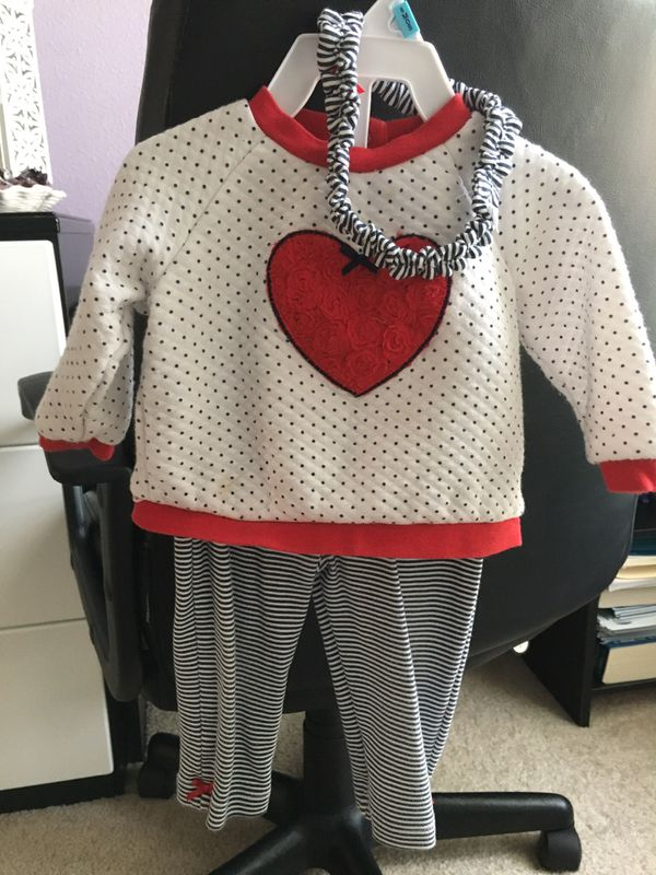 b0ce88be46021 Little Me Baby Girls' 3 Piece Shirt and Legging Set with Headband, Striped  9 (Baby & Kids) in Jacksonville, FL - OfferUp