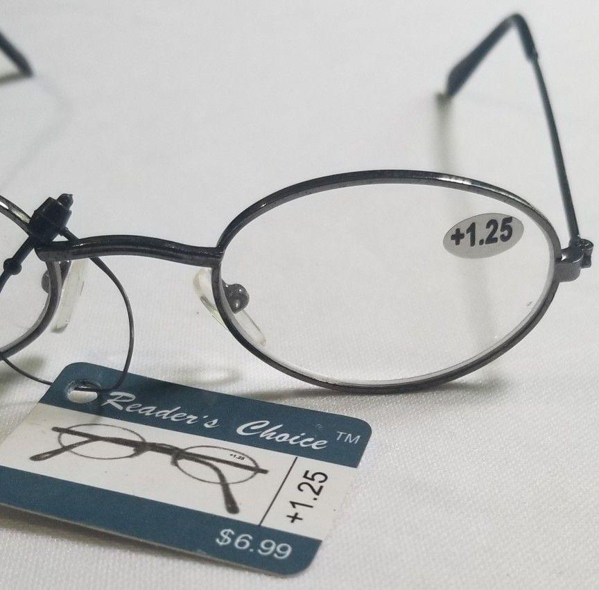 Reader's Choice +1.25 Reading Glasses