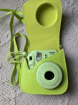 Photo Lime green instax camera