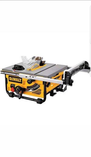 "DEWALT DW745 Compact Job-Site Table Saw 10"" with 20-Inch Max Rip Capacity - 120V for Sale in Upper Marlboro, MD"