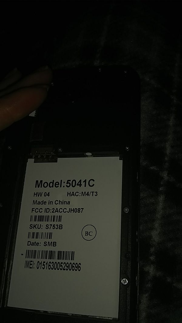 Alcatel model number 5041 c unlocked for Sale in Colorado Springs, CO -  OfferUp