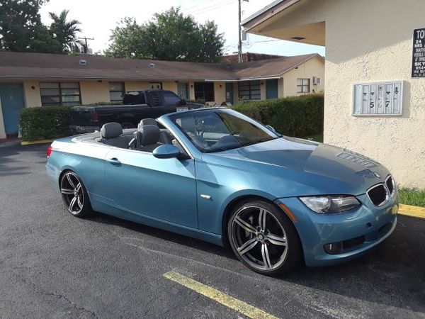 2007 BMW 335i convertible, rebuilt title for Sale in Hollywood, FL ...