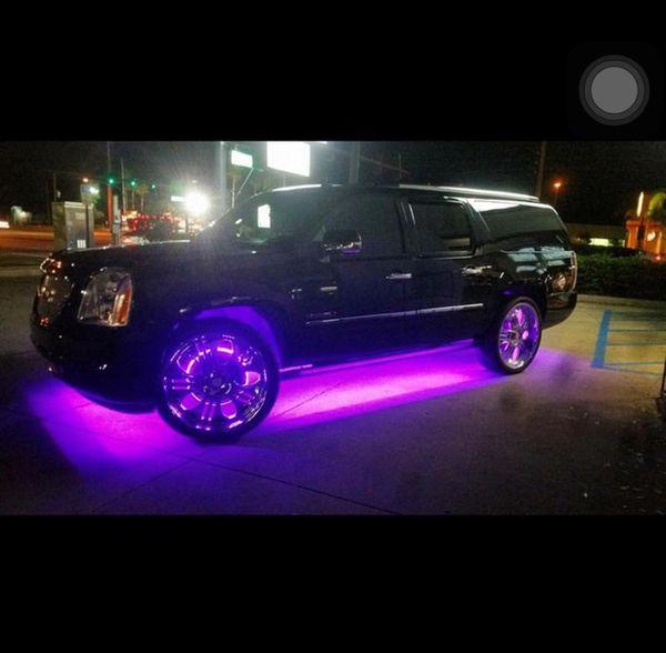 Custom LED Under Glow Lighting For Sale In Houston, TX