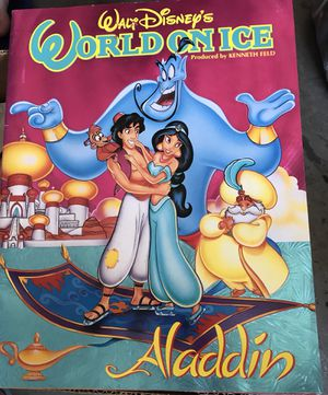 Aladdin World on ice program 1994 for Sale in Clermont, FL