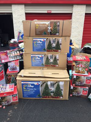 Christmas trees and accessories for Sale in Montgomery Village, MD