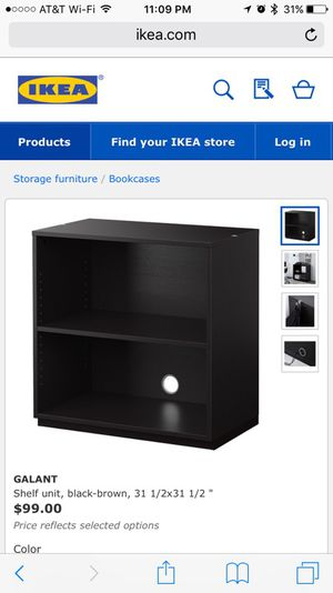 best sneakers 67ff3 37a08 Ikea Galant shelf unit for Sale in Trabuco Canyon, CA - OfferUp