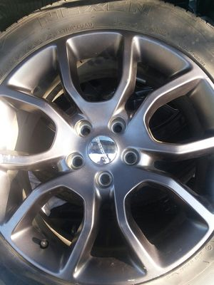 size 20in tires and rims/Dodge for Sale in Oxon Hill, MD