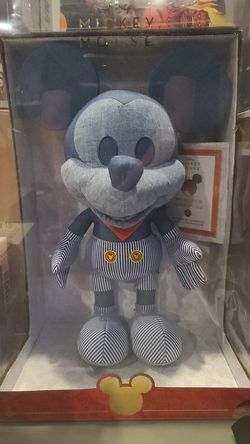 Train Conductor Mickey - Disney Year of The Mouse Collector Plush March 2020. Thumbnail