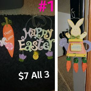 Easter Decorations and items for Sale in Wichita, KS