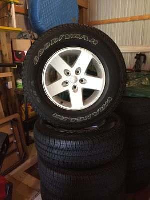 Used Tires Flint Mi >> New And Used Jeep Wheels For Sale In Flint Mi Offerup