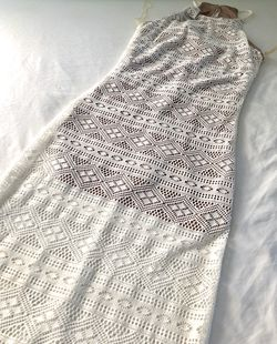 Lace Overlay Dress Thumbnail