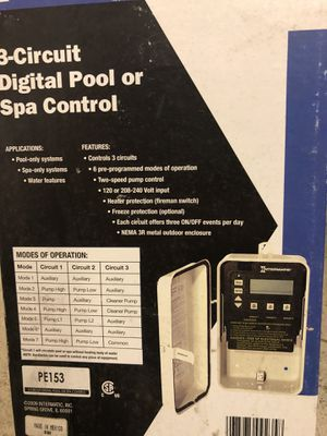 Pool and spa 3 circuit control for Sale in Jacksonville, FL