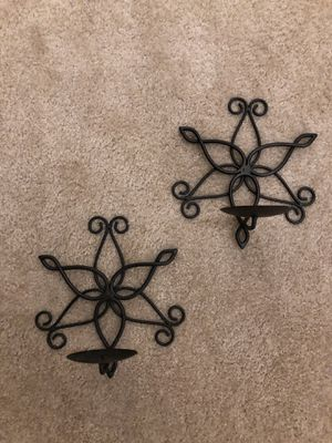 Wall candle holders for Sale in Arlington, VA