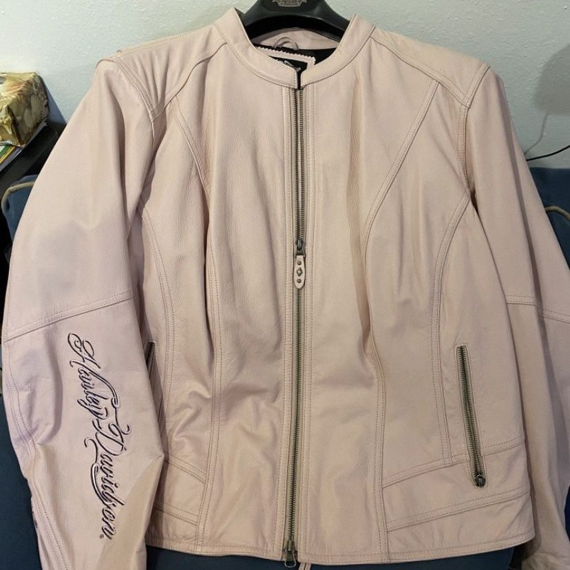 Photo Leather Harley Davidson Womens Leather Jacket