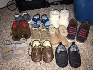 Baby shoes/slippers lot for Sale in Apex, NC