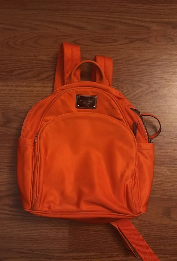 dbcf367c95e059 Orange Michael Kors Backpack for Sale in Staten Island, NY - OfferUp