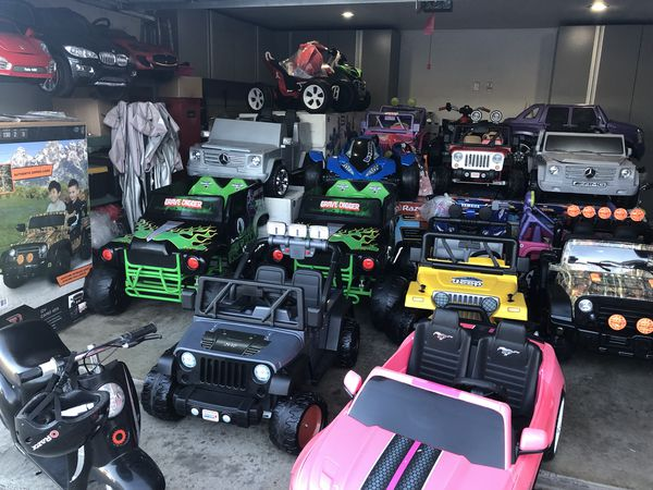 Cars For Kids Electric Ride On Wheels