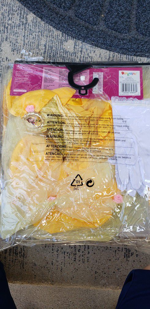 Disney Princess Belle Child Costume