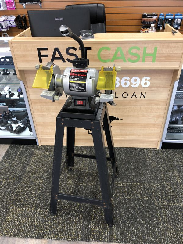 Cool Craftsman 1 3 Hp 6 Bench Grinder Stand Model 319 211260 Ibusinesslaw Wood Chair Design Ideas Ibusinesslaworg