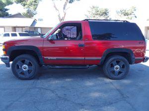 Photo Chevy Tahoe 4x4 2 doors