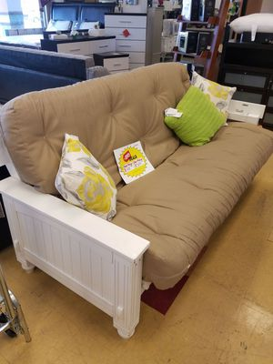 White Futon For In North Fort Myers Fl