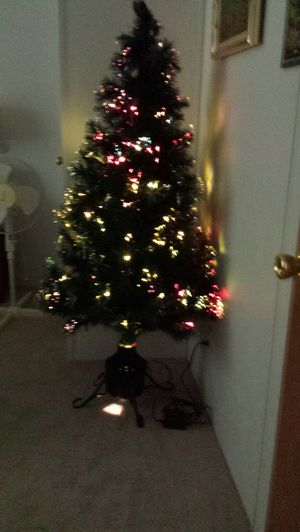 Fiber optic christmas tree for Sale in Drakes Branch, VA