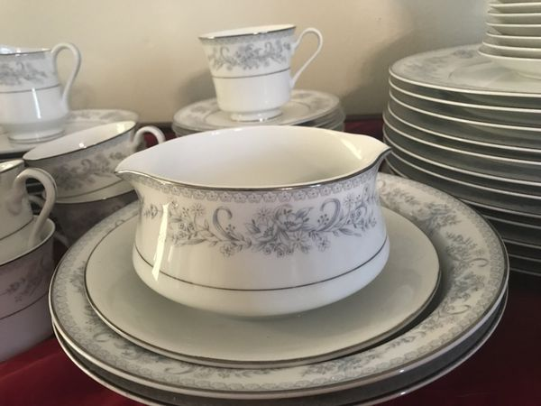 91 Piece Vintage Mikasa Dresden Rose L9009 China Service for 12 ...