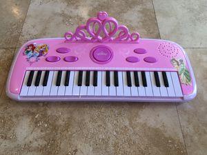 Disney Princess Royal Keyboard for Sale in Chandler, AZ