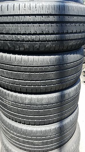 4 set of Bridgestone tires for sale 235/55/18 for Sale in Capitol Heights, DC