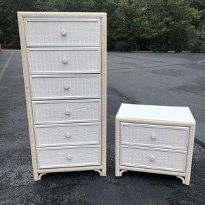 Dresser and Nightstand for Sale in Lake Ridge, VA