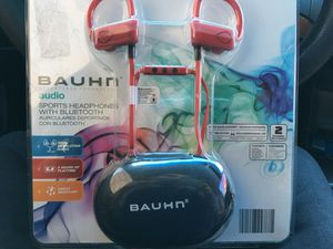 BRAND NEW SEALED BAUHN AUDIO HEADPHONES WITH BLUETOOTH for Sale in Los Angeles, CA