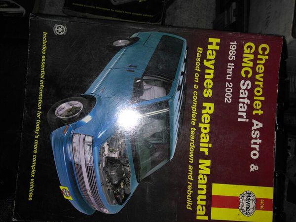 gmc safari repair manual free